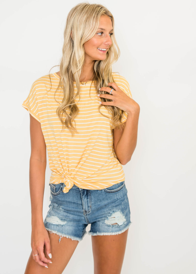 Lake Days Striped Tee | FINAL SALE, CLOTHING, Ginger G, BAD HABIT BOUTIQUE