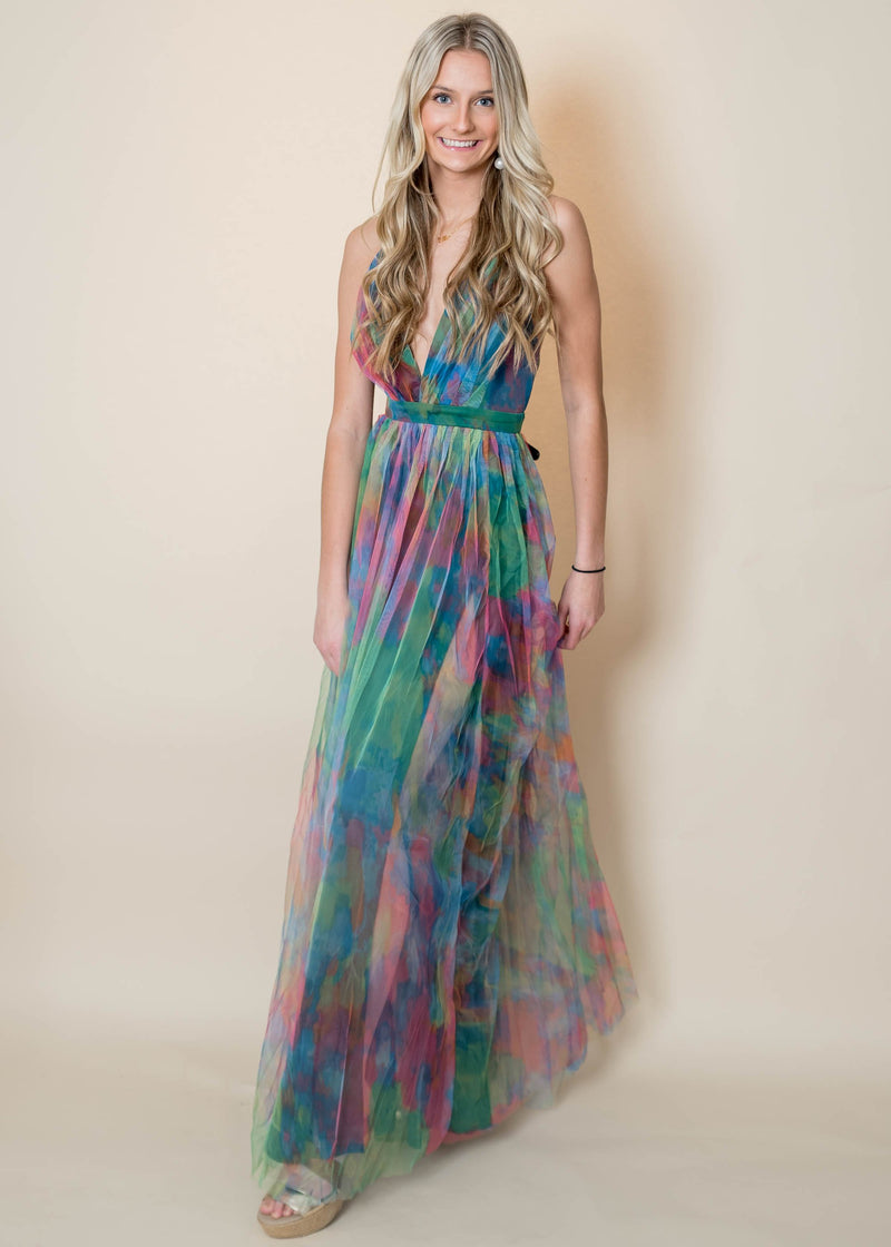 Tie Dye Maxi Dress | FINAL SALE, CLOTHING, Maniju, BAD HABIT BOUTIQUE