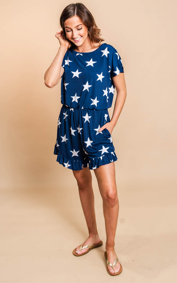 A Star is Born Romper - BAD HABIT BOUTIQUE