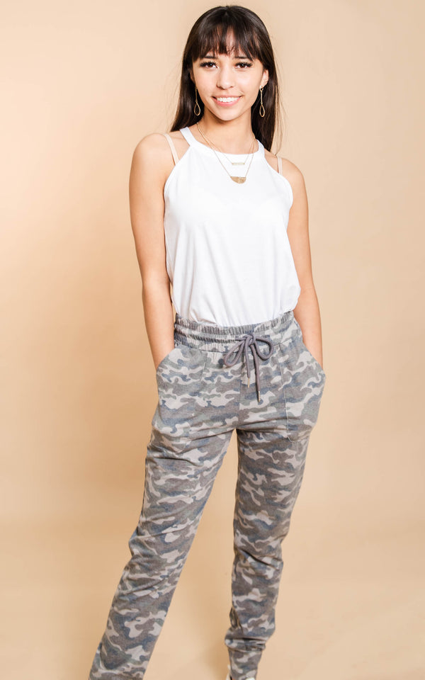 Stay Salty Camo Jogger - BAD HABIT BOUTIQUE