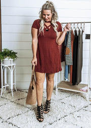 The Simple Life Keyhole Dress