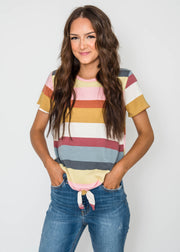 Striped TOP, CLOTHING, Lovely Melody, BAD HABIT BOUTIQUE