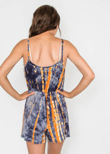 Amora's Tie Dye Romper - Final Sale, CLOTHING, Lovely Melody, BAD HABIT BOUTIQUE