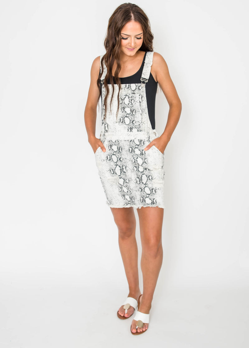Snakeskin Skirtall - Final Sale, CLOTHING, POL, BAD HABIT BOUTIQUE