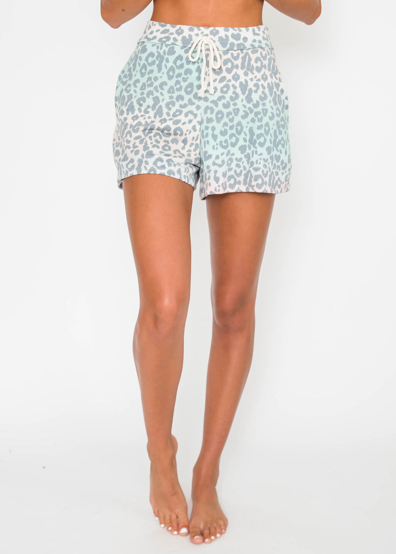 Cheetah French Terry Shorts | FINAL SALE, CLOTHING, Lovely Melody, BAD HABIT BOUTIQUE