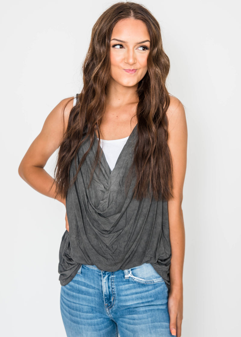 Slouchy Tank by POL, CLOTHING, POL, BAD HABIT BOUTIQUE