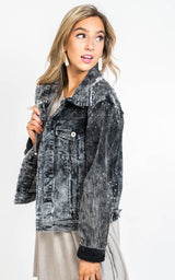 Studded Rock & Roll Corduroy Jacket - POL, CLOTHING, POL, BAD HABIT BOUTIQUE
