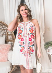 all about me embroidered dress, embroidered dress, boho dresses, boho, dress, dresses,