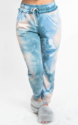Tie Dye Joggers, CLOTHING, White Birch, BAD HABIT BOUTIQUE