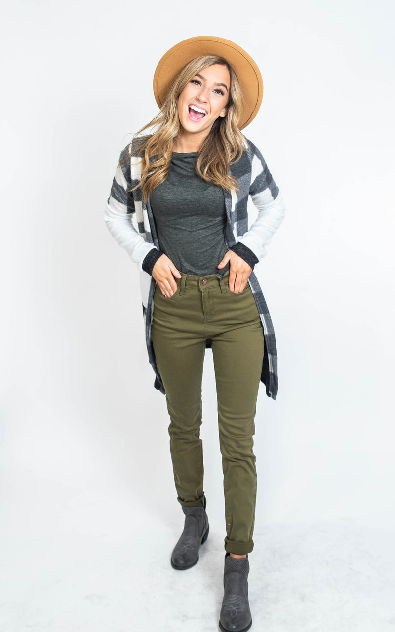 High Waist Colored Skinny Jeans - Judy Blue, CLOTHING, JUDY BLUE, BAD HABIT BOUTIQUE