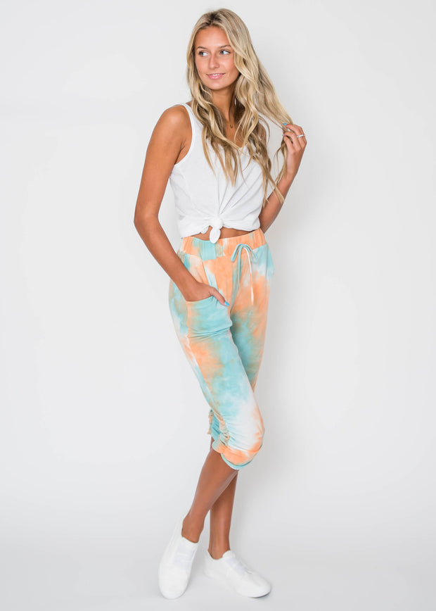 Relax Thing on your Mind Joggers | ORANGE, CLOTHING, Lovely Melody, BAD HABIT BOUTIQUE