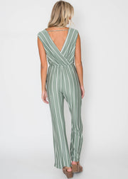 I'm Just Your Stripe Jumpsuit, CLOTHING, Lovely Melody, BAD HABIT BOUTIQUE