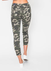 High Rise Distressed Ankle Joggers, CLOTHING, YMI, BAD HABIT BOUTIQUE