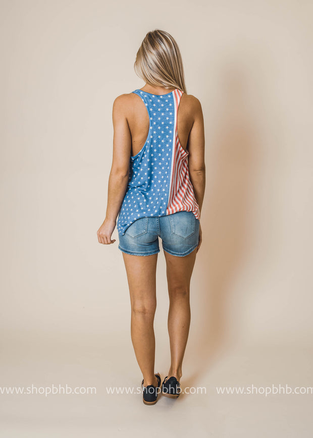 American Tank Top, Tank, Phil Love, BAD HABIT BOUTIQUE