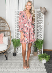 Fit & Flare Floral Open Back Dress | FINAL SALE, CLOTHING, HyFve, BAD HABIT BOUTIQUE