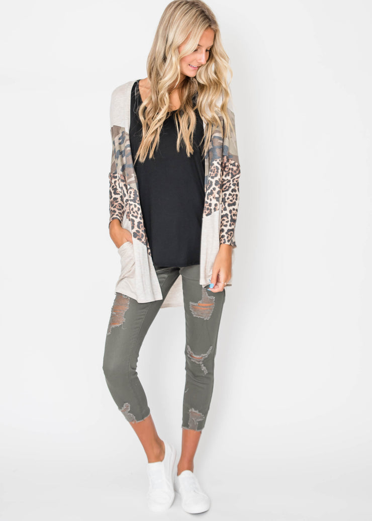 The Best of Both Worlds Cardigan, CLOTHING, A.Gain, BAD HABIT BOUTIQUE