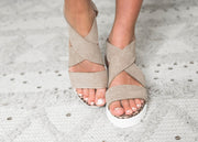 Very G-The Ace Wedge Sandal | FINAL SALE, SHOES, very g, BAD HABIT BOUTIQUE