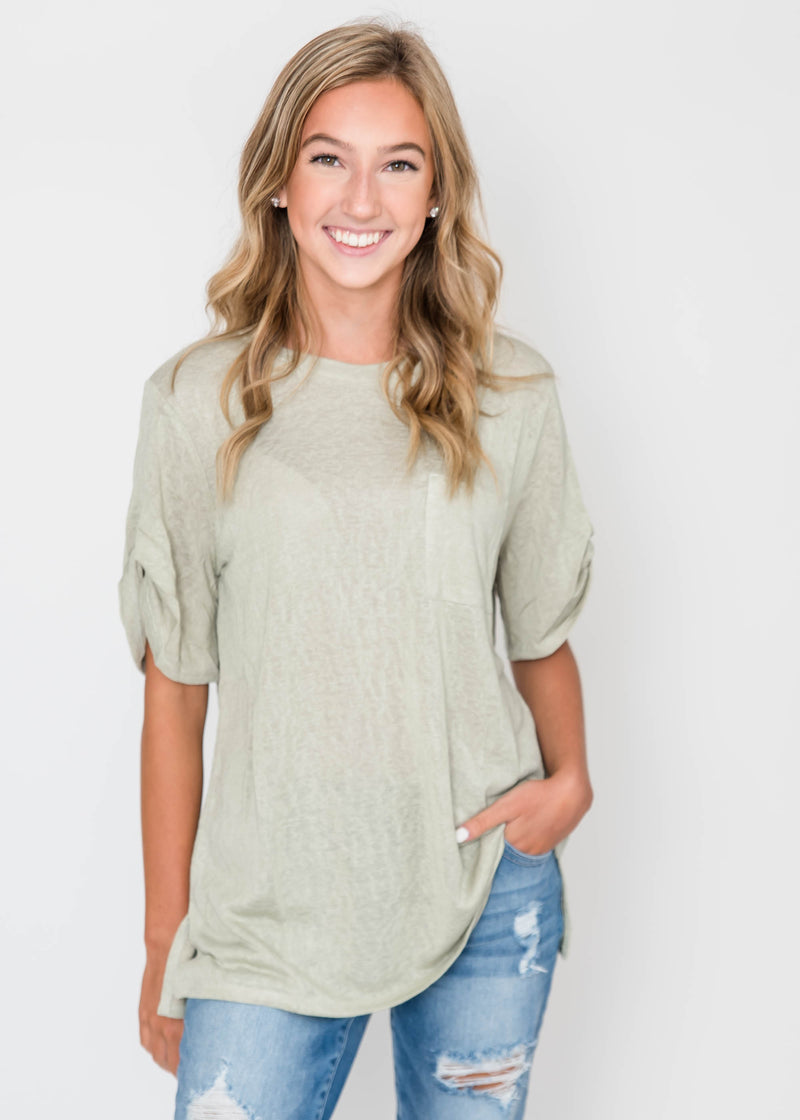 Loose Fit French Terry Top| FINAL SALE, CLOTHING, Cherish, BAD HABIT BOUTIQUE