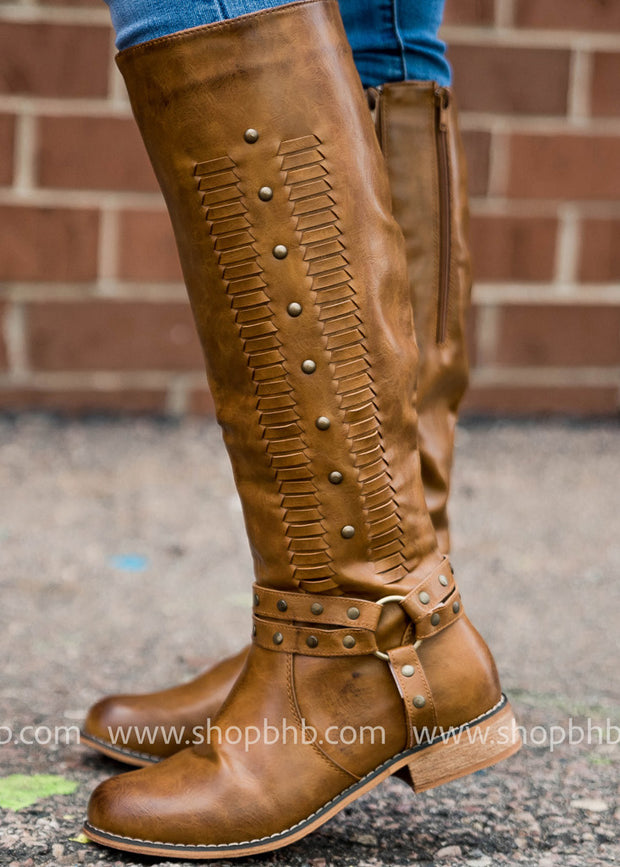 There is just something about a tall boot that makes me think of winter