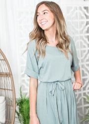 Belted Tulip Dress, Dress, dresses, spring dresses, Short sleeve dresses