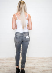 Moto Super Skinny Jeans | Kan Can - FINAL SALE