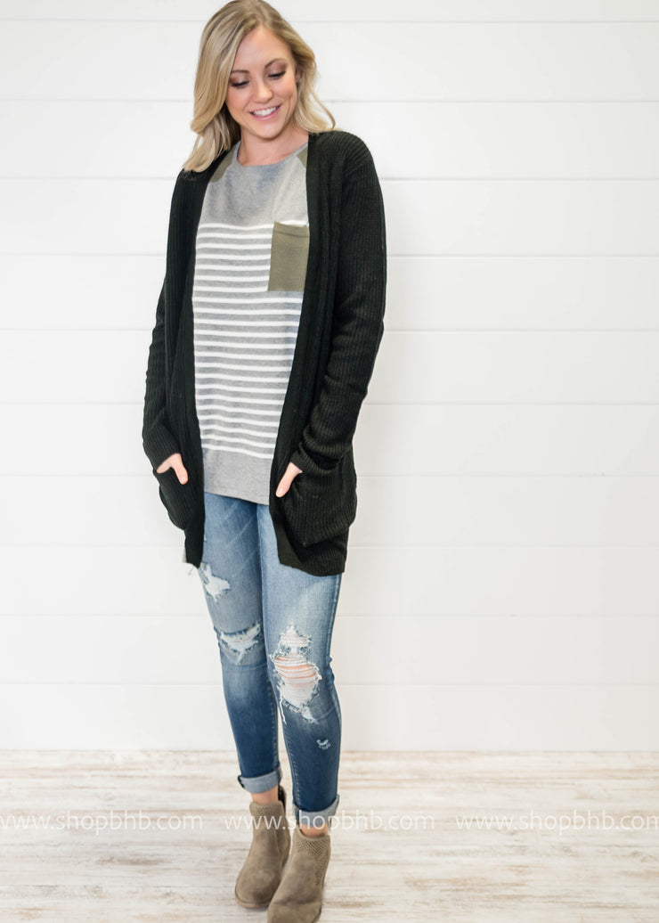 The Coziest Knit Cardigan