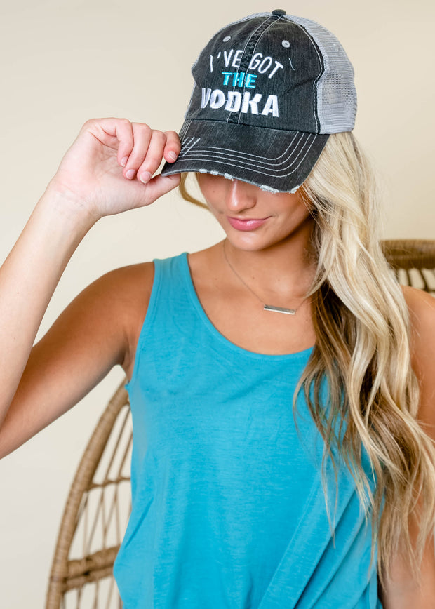 I've Got The Vodka | Trucker Hat, ACCESSORIES, BAD HABIT APPAREL, BAD HABIT BOUTIQUE