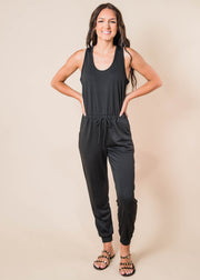Solid Black Jumpsuit, CLOTHING, Fantastic Fawn, BAD HABIT BOUTIQUE
