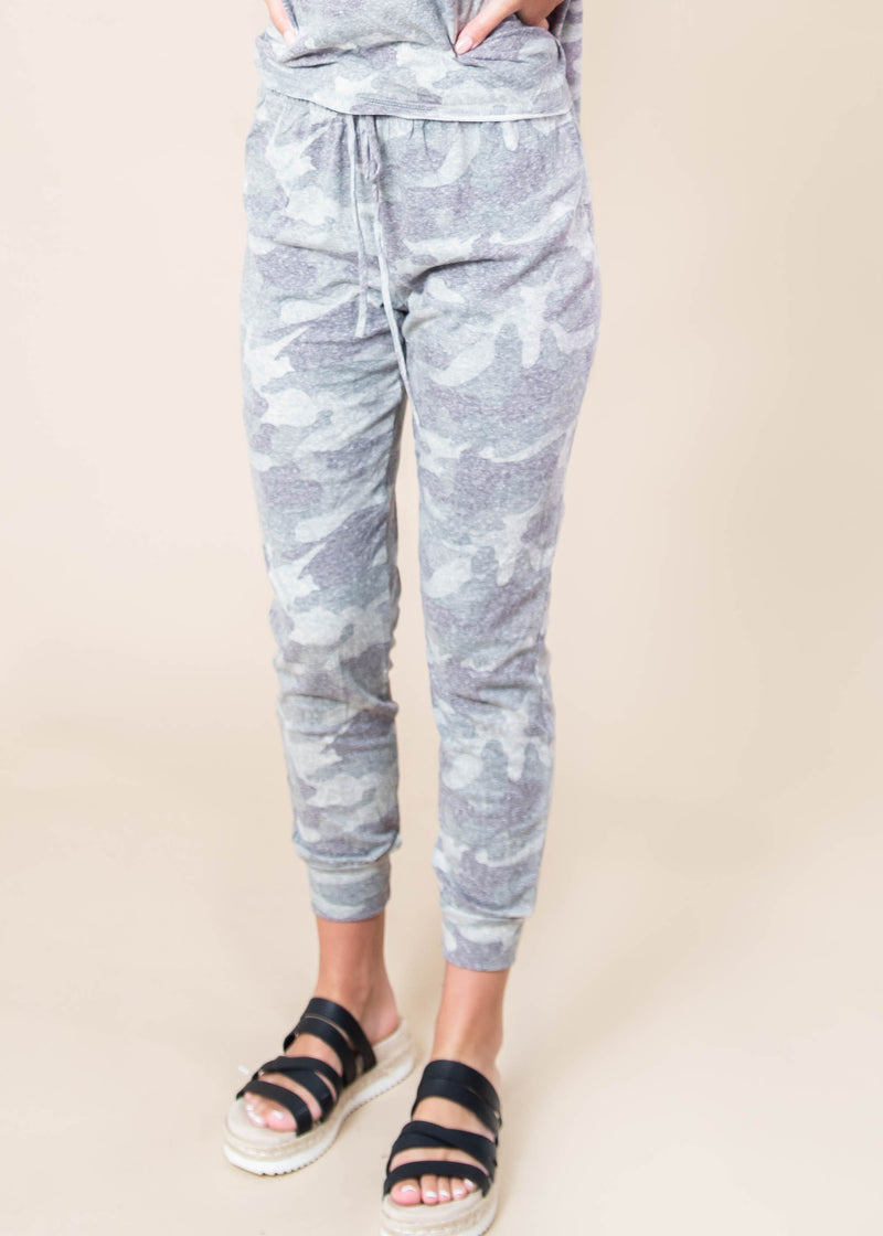 Camo So Soft Every Day Joggers | FINAL SALE, CLOTHING, Phil Love, BAD HABIT BOUTIQUE