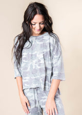 Camo So Soft Every Day Top - Final Sale, CLOTHING, Phil Love, BAD HABIT BOUTIQUE