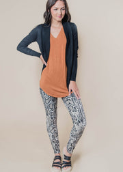 Butta SnakeSkin Leggings | TAUPE, CLOTHING, Superline, BAD HABIT BOUTIQUE