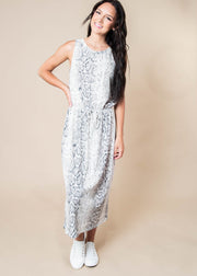 Snake Print Midi Dress, CLOTHING, Cherish, BAD HABIT BOUTIQUE