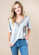 Little Bit of an Animal Top | FINAL SALE, CLOTHING, Heimish, BAD HABIT BOUTIQUE