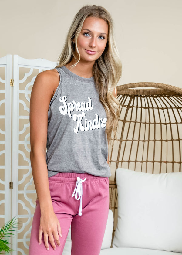 Spread Kindness Zen Tank Top, CLOTHING, BAD HABIT APPAREL, BAD HABIT BOUTIQUE