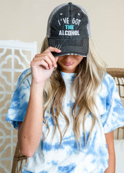 I've got the alcohol trucker hat