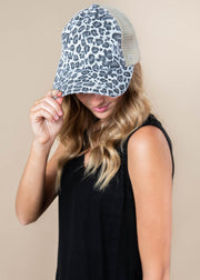 Mesh CrissCross Ponytail Hat, ACCESSORIES, SUZIE, BAD HABIT BOUTIQUE