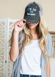 I've Got the Bail Money Gray Trucker Hat, ACCESSORIES, BAD HABIT APPAREL, BAD HABIT BOUTIQUE