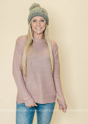 The soft color of mauve is perfect for winter