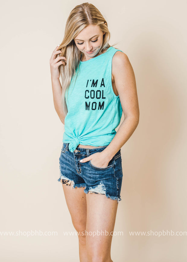 I'm a cool mom tank top
