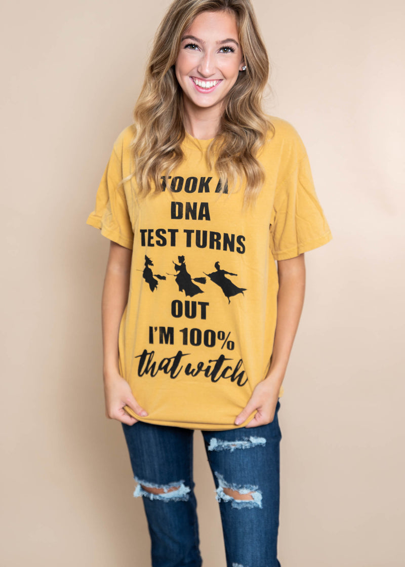 Took A DNA Test Turns Out I'm 100% That Witch | Hocus Pocus, CLOTHING, BAD HABIT APPAREL, BAD HABIT BOUTIQUE