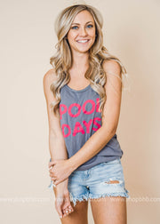 Pool Days Tank Top, CLOTHING, BAD HABIT APPAREL, BAD HABIT BOUTIQUE