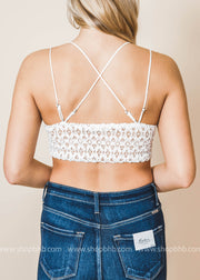 so fancy lace bralette