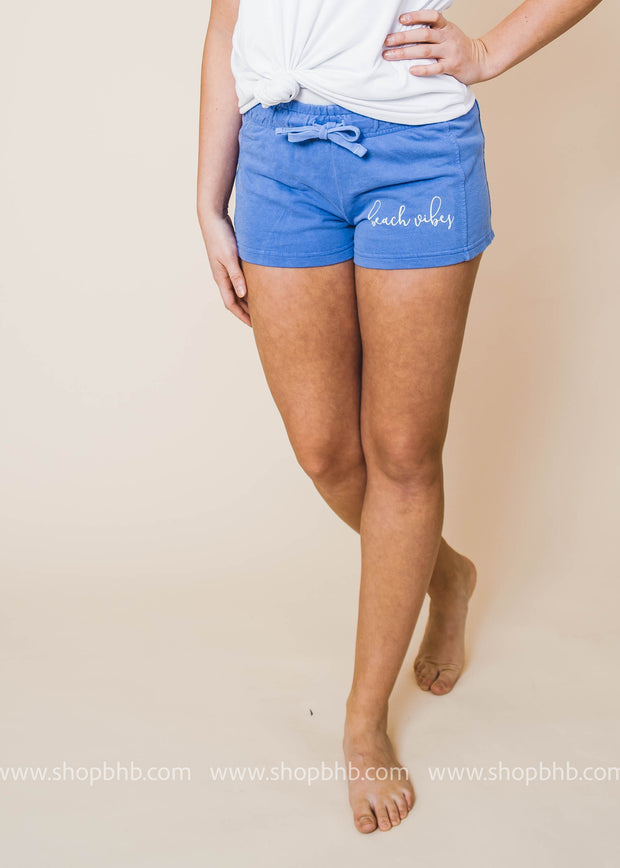 Beach Vibes Shorts, GRAPHICS, BAD HABIT APPAREL, BAD HABIT BOUTIQUE