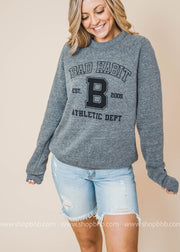 BHB Athletic Dept Sweater, GRAPHICS, BAD HABIT APPAREL, BAD HABIT BOUTIQUE