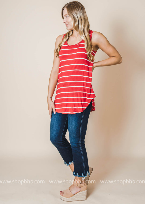 Everyday Striped Tank - Final Sale