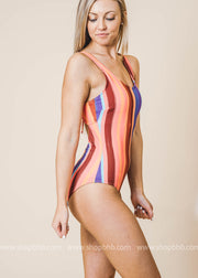 Sinatra's Twin Striped One Piece | FINAL SALE, CLOTHING, Swim Central, BAD HABIT BOUTIQUE