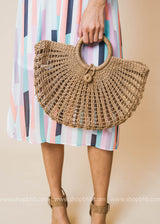 It's A Staple Ivory Bag, ACCESSORIES, H&D, BAD HABIT BOUTIQUE