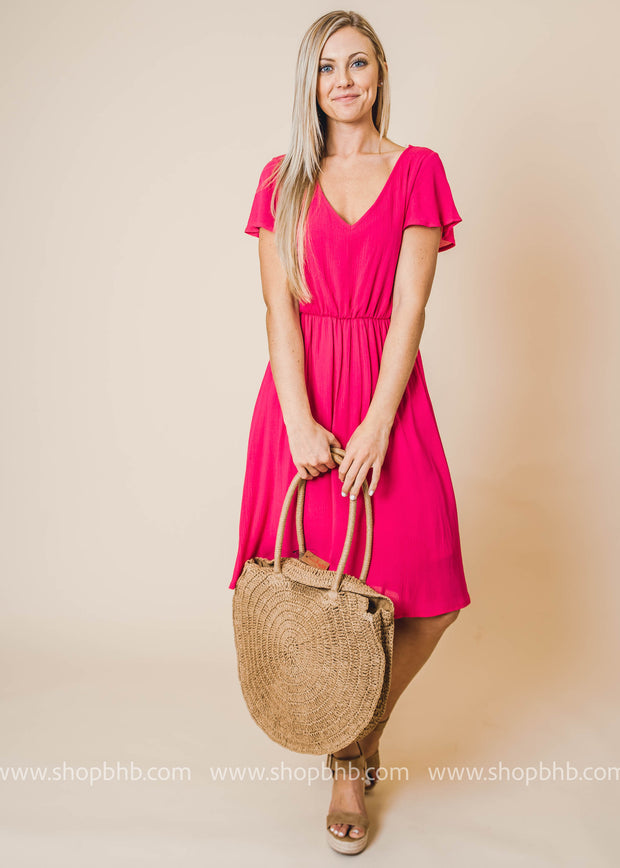 Resort Classic Round Straw Bag | FINAL SALE
