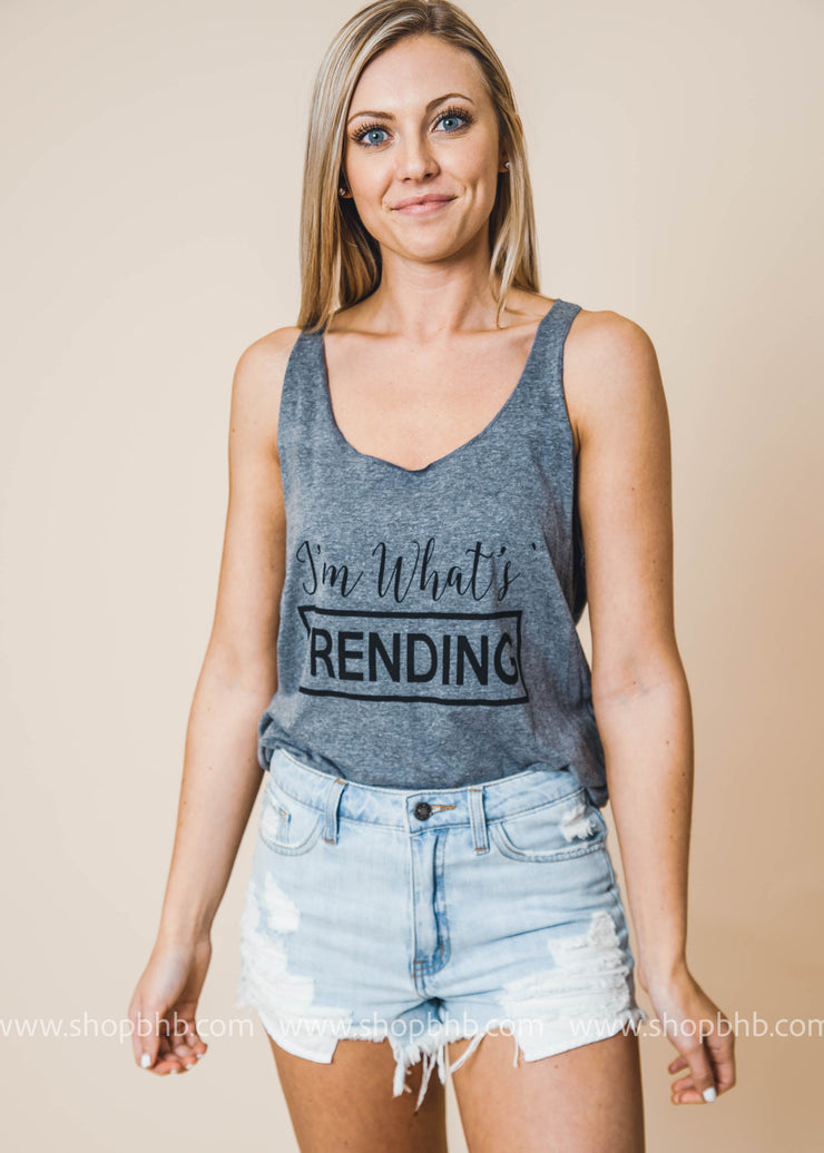 Im whats trending unisex tank top