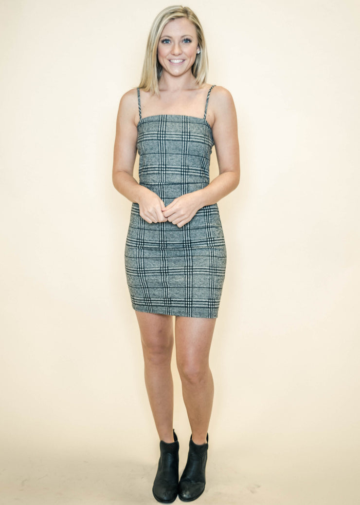 This Is It Plaid Dress